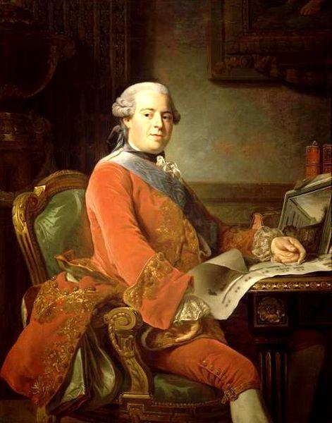 Le marquis de Marigny, frère de la marquise de Pompadour