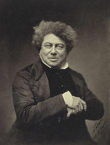 Alexandre Dumas père, par le photographe Nadar