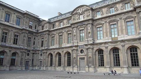 Aile des reines et aile Renaissance de la Cour Carrée du Louvre, Paris