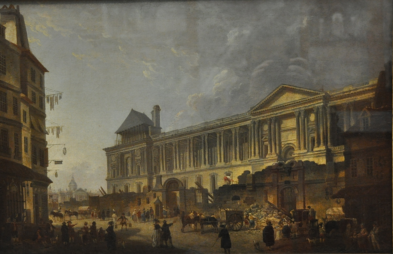 Le Louvre après le départ de Louis XIV à Versailles, salles d'histoire, le Louvre