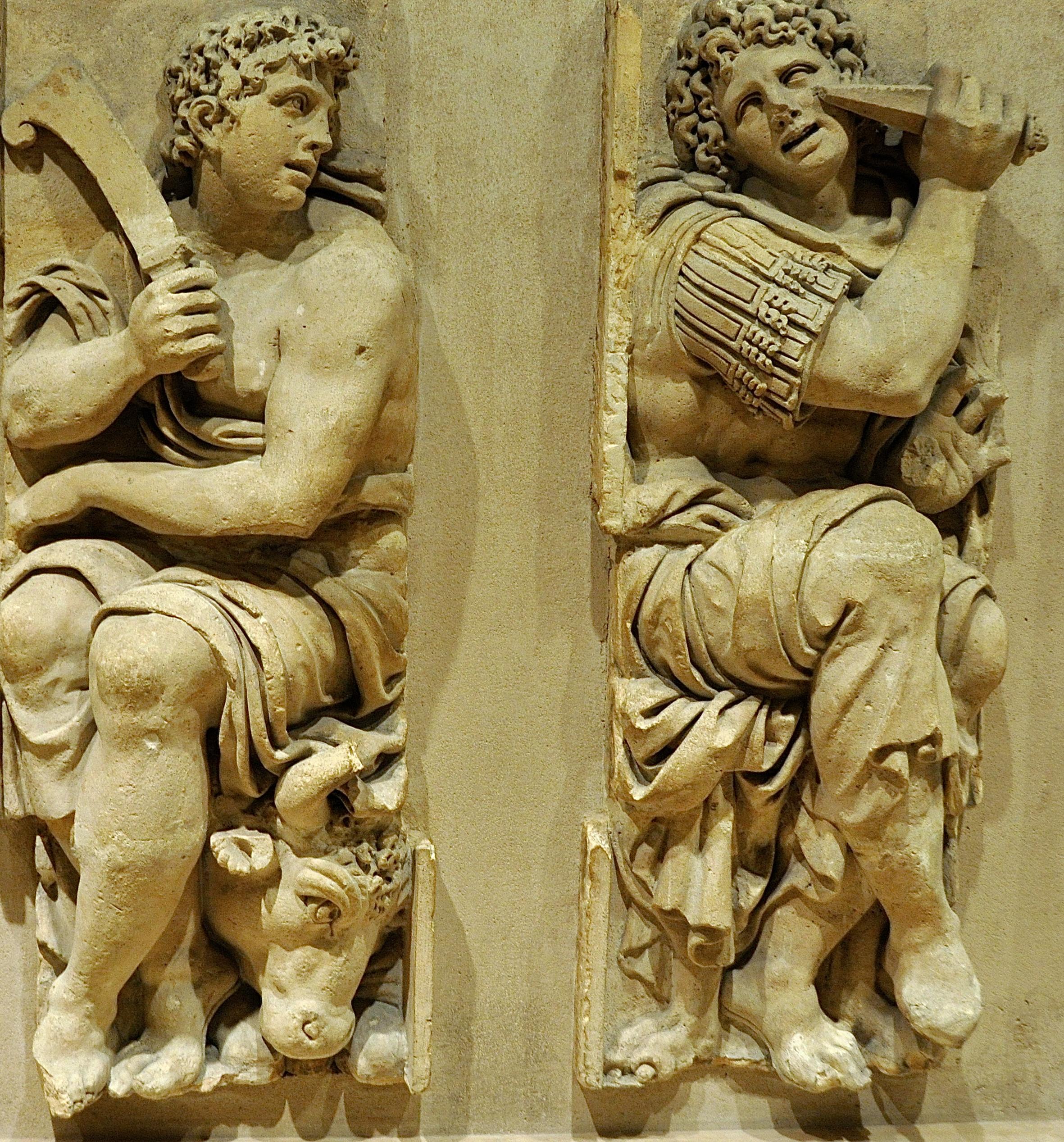 Sculptures de Jean Goujon (16ème siècle), Le Louvre, Paris
