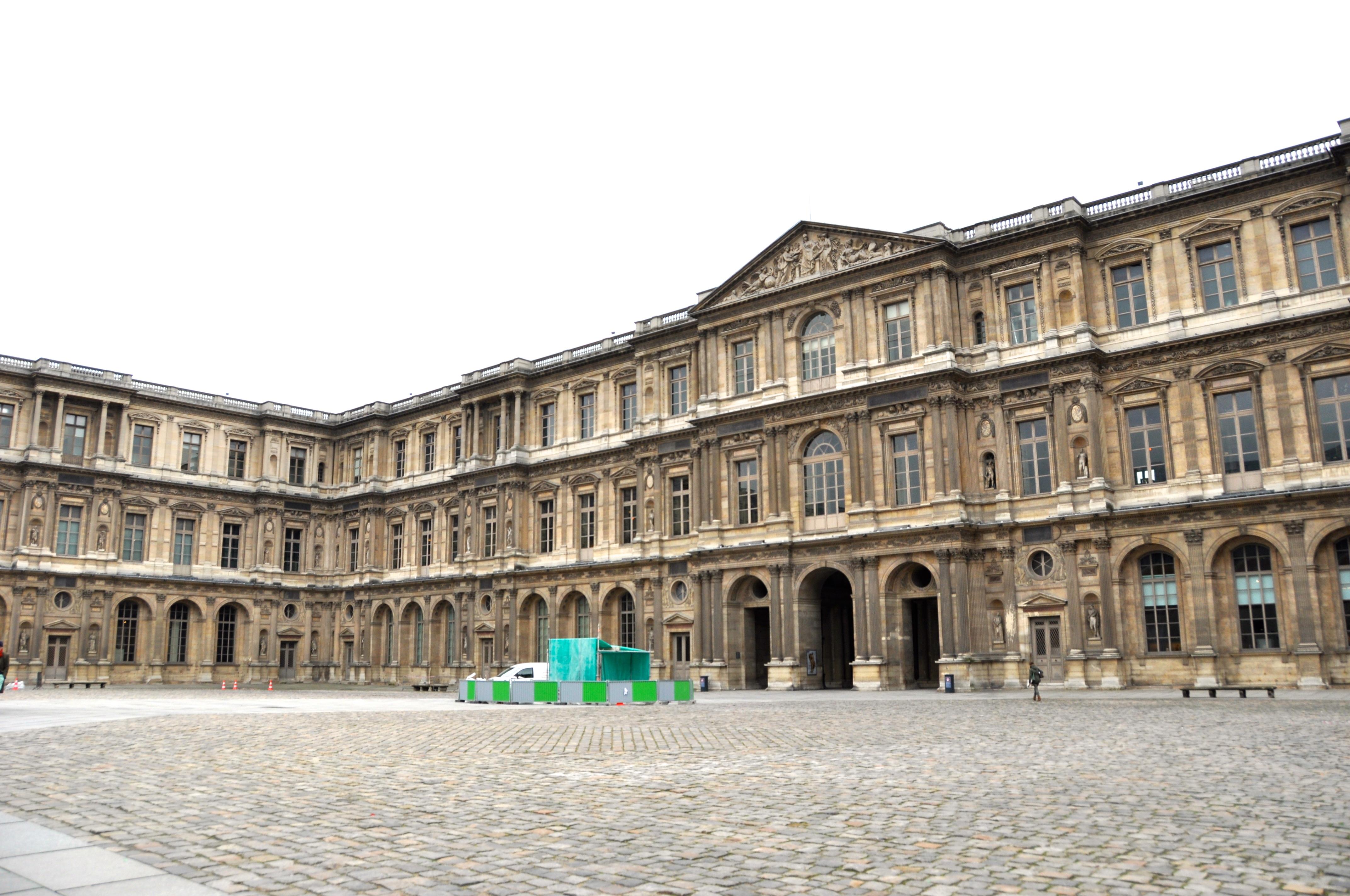 Aile méridionale de la Cour Carrée, Le Louvre, Paris