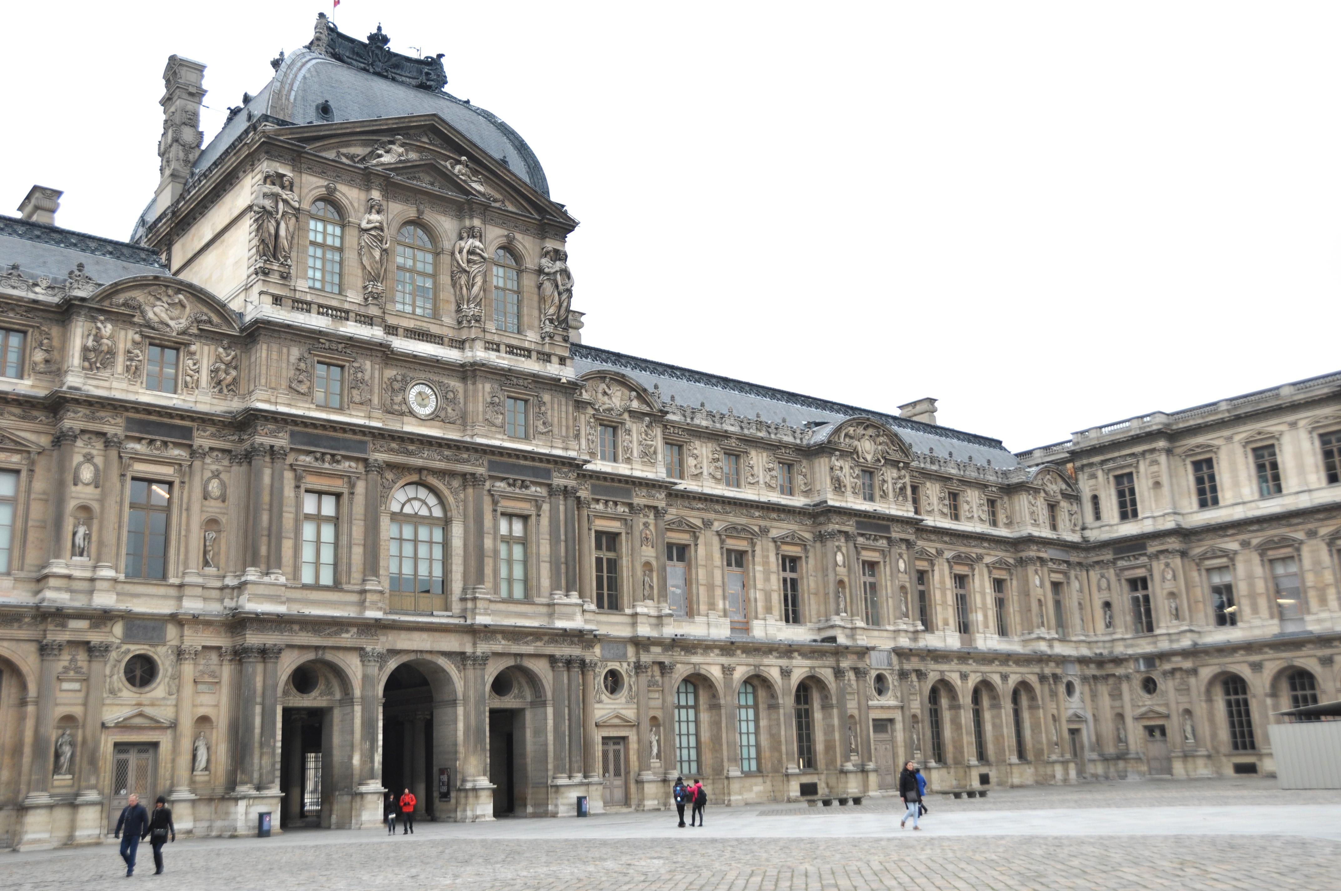 Aile Lemercier, Pavillon Sully, Cour Carrée du Louvre, Paris