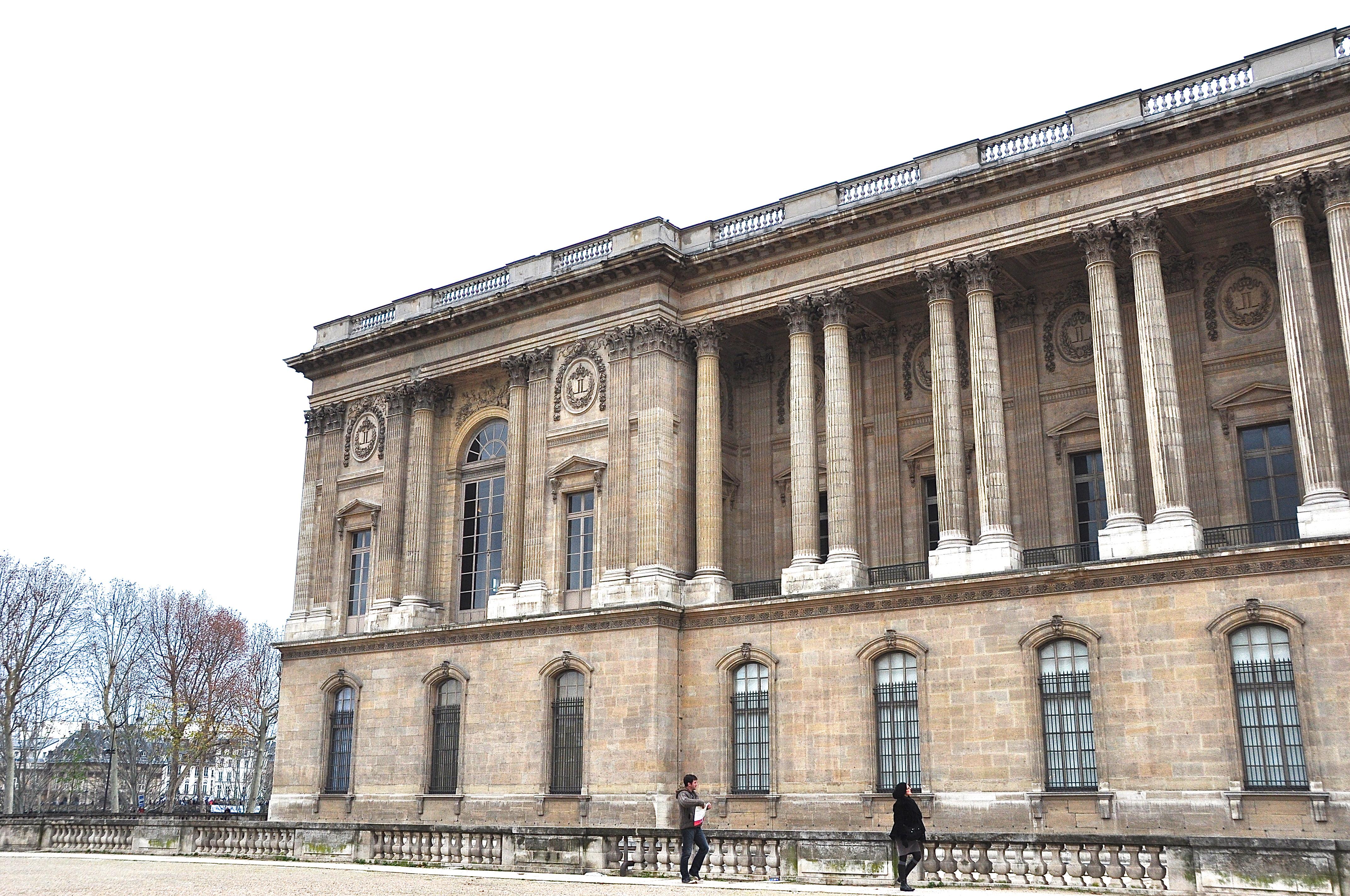 Pavillon méridional, Colonnade de Perrault, façade orientale du Louvre, Paris