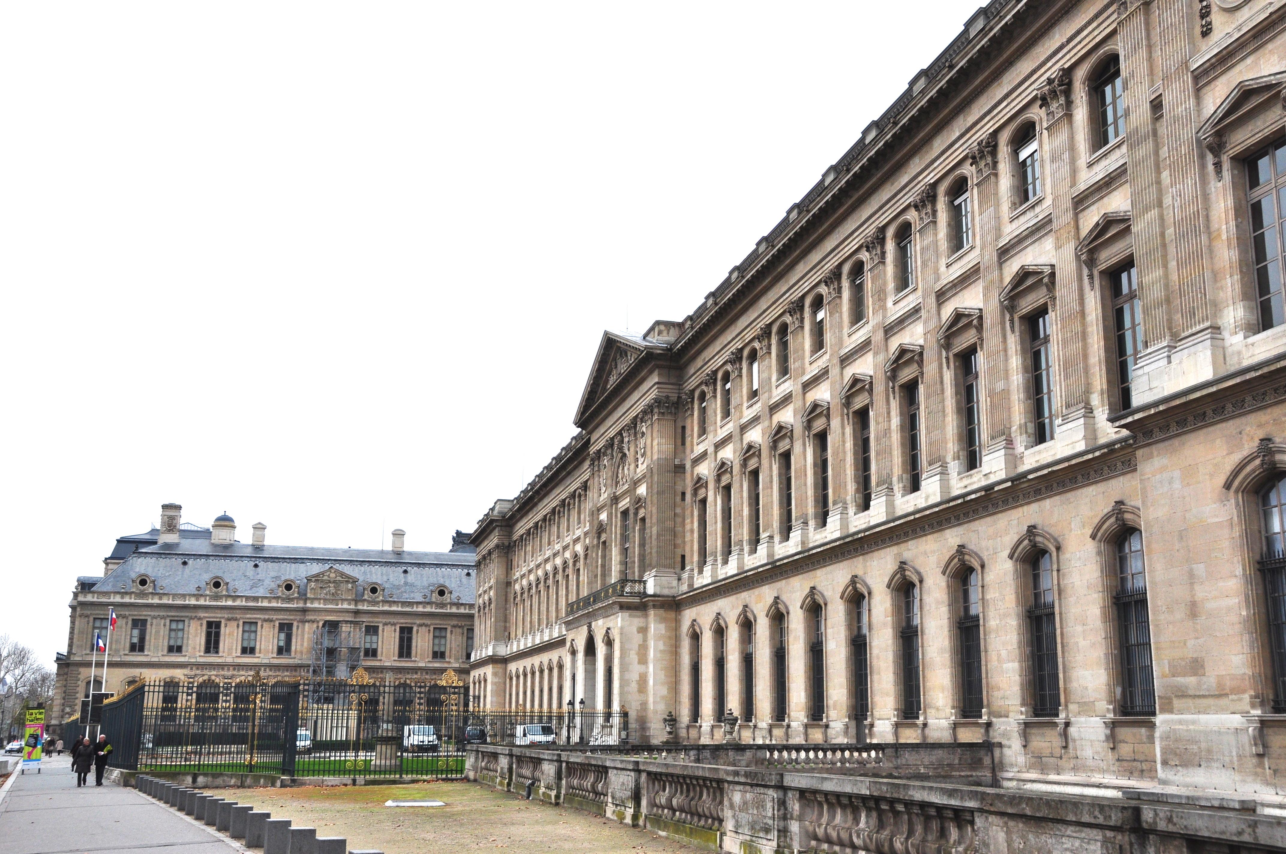 Façade méridionale du Louvre, Paris