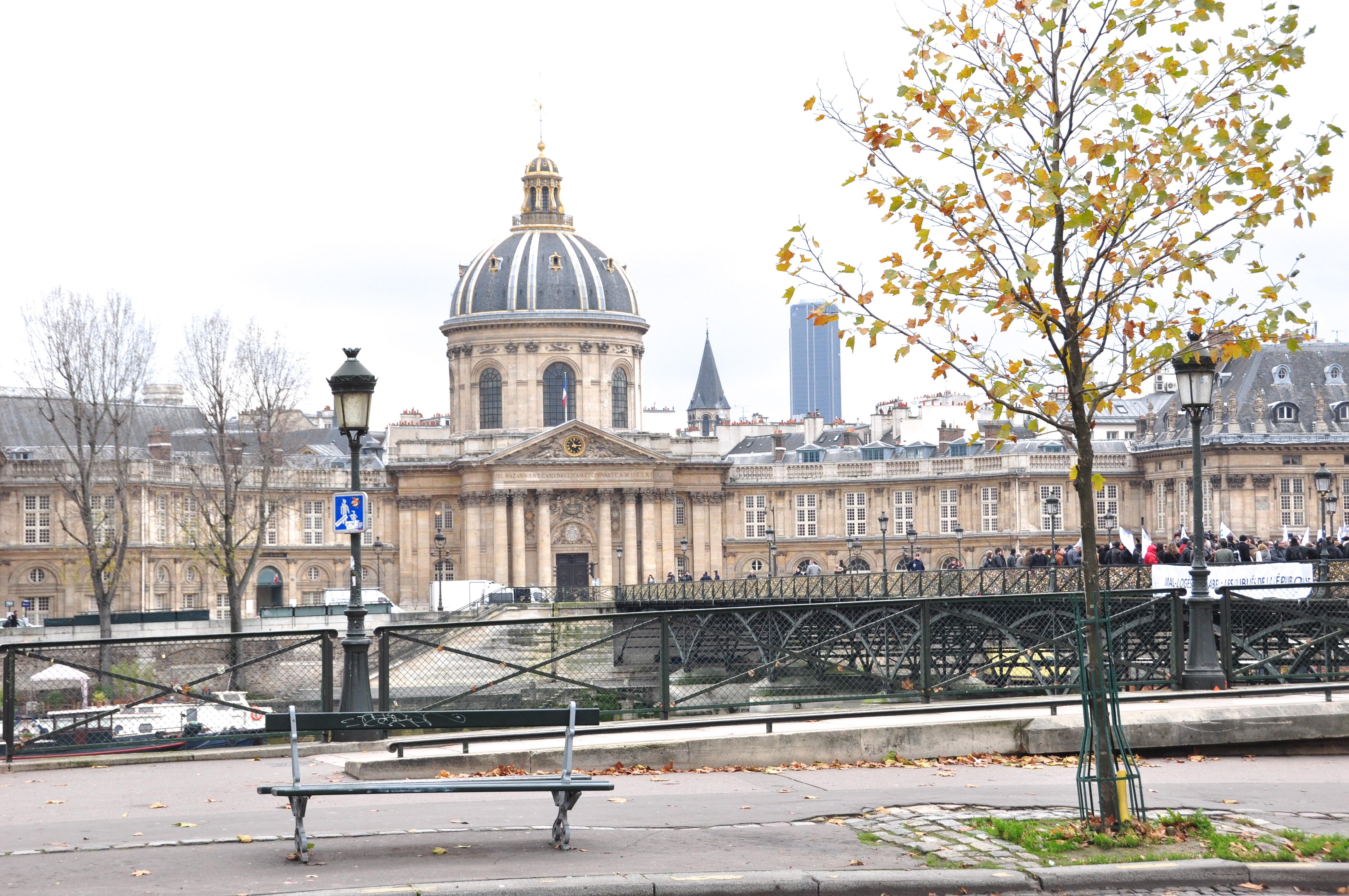 L'Institut de France, ex Collège des Quatre Nations, Paris