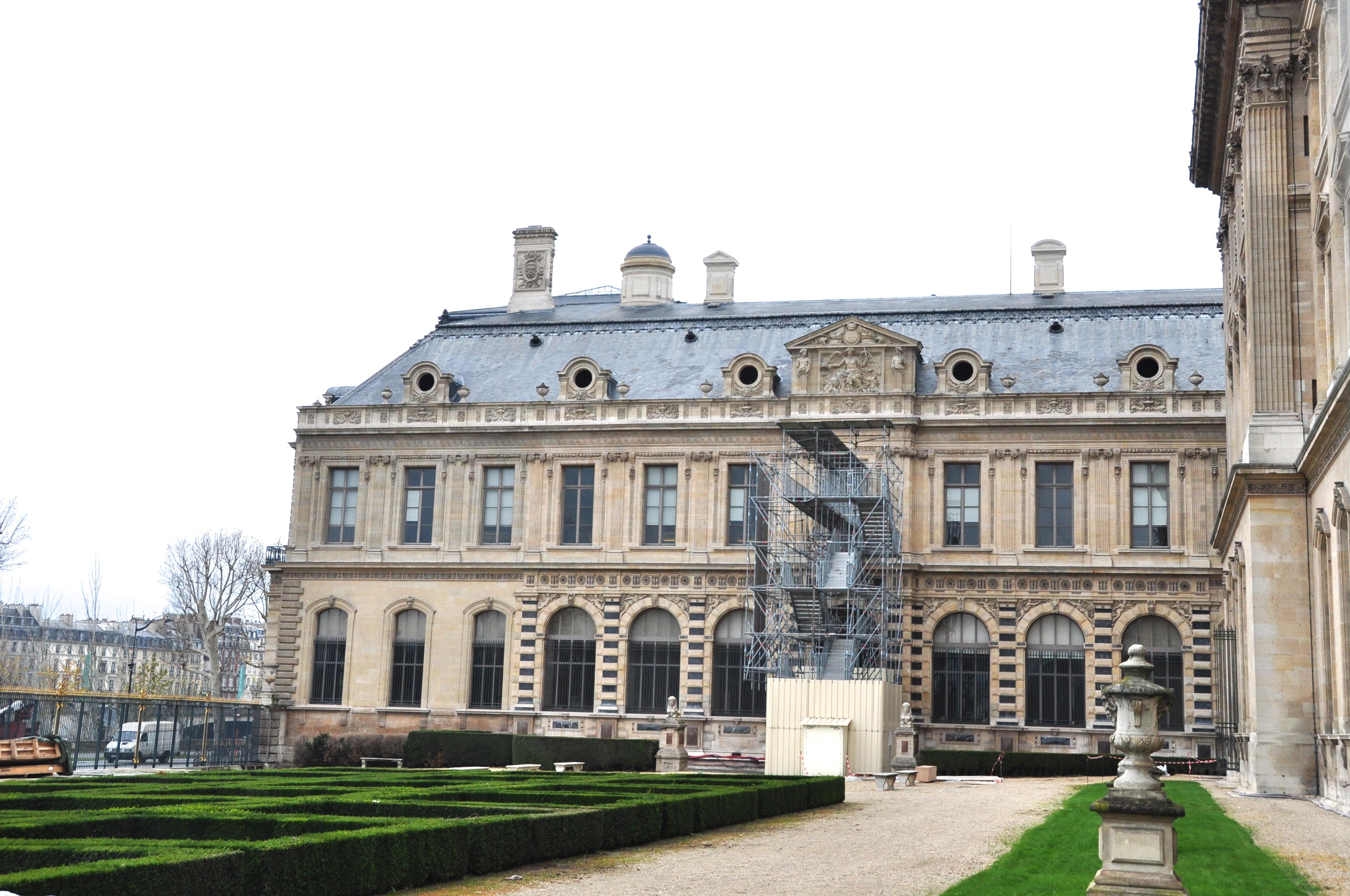 Le jardin de l'infante, Le Louvre, Paris