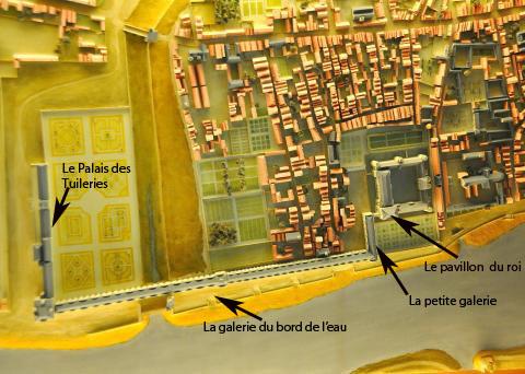 Le Louvre d'Henri IV, salles d'histoire, Le Louvre, Paris