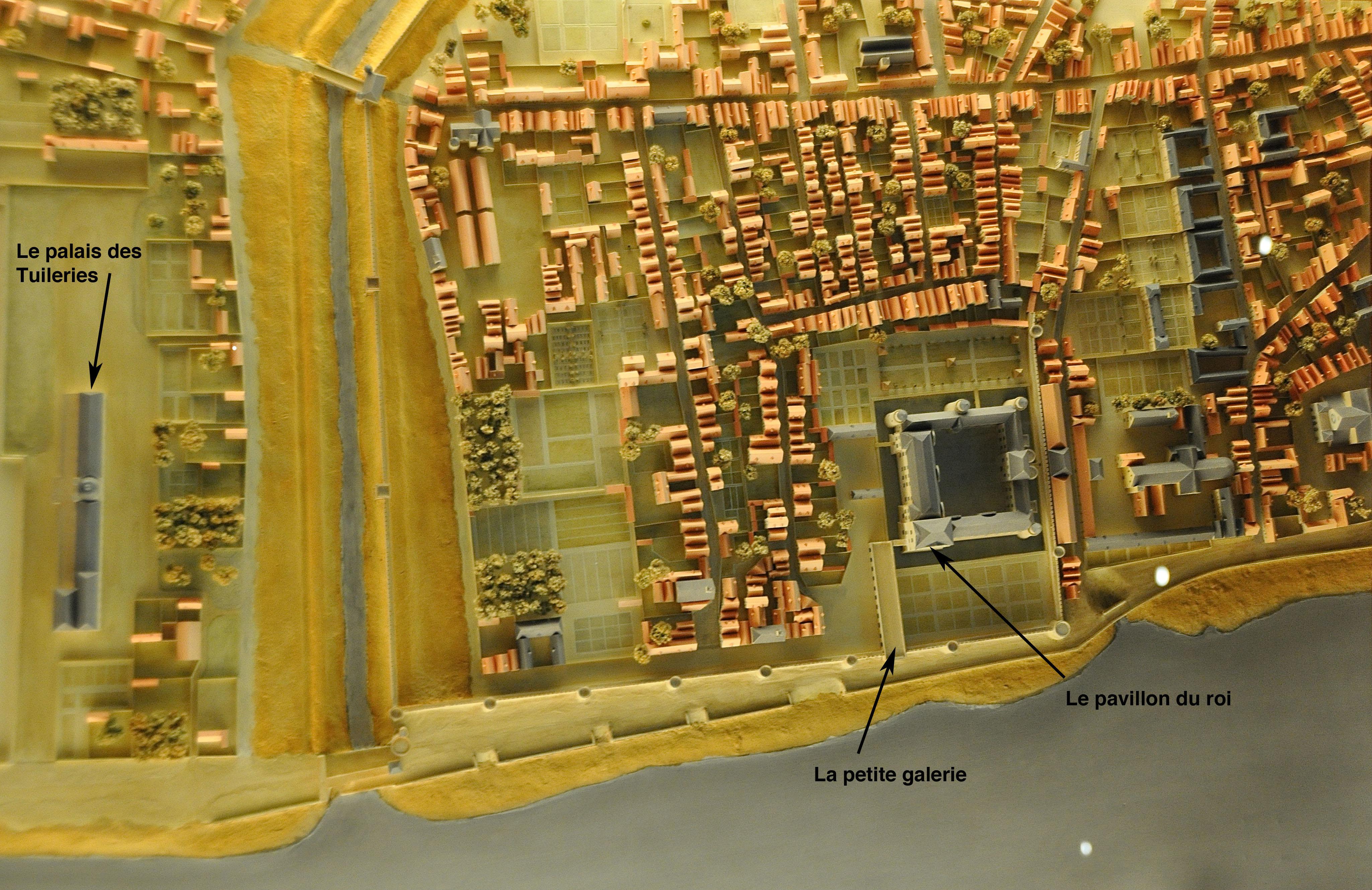 Le Louvre Renaissance, maquette, salles d'histoire, Le Louvre, Paris